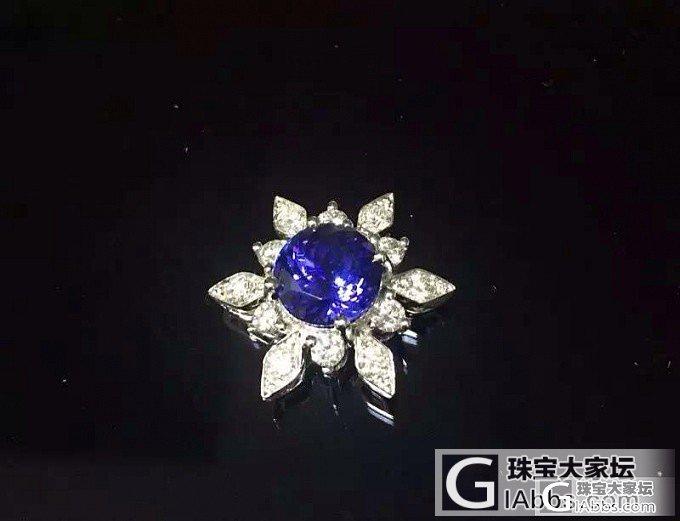 我的蓝色太阳_坦桑石刻面宝石