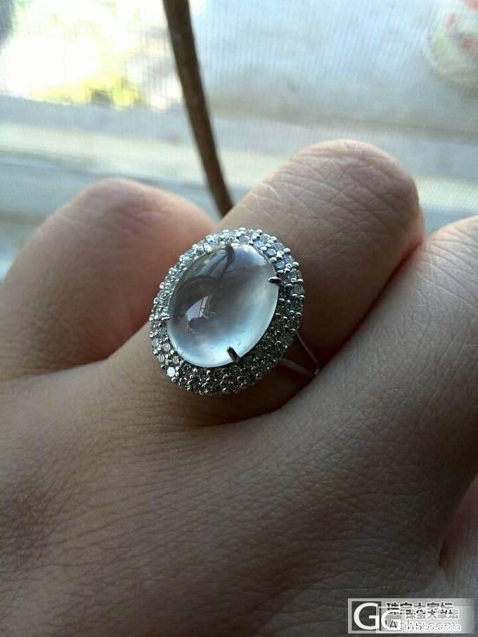第一次镶嵌,心形戒指