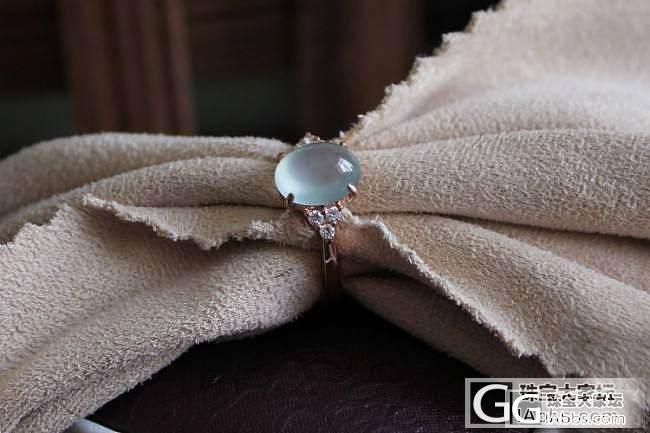 【挽玉阁】18K镶嵌甜美高冰戒指
