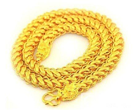 求助一下,想买条男士项链,不知道该买..._金