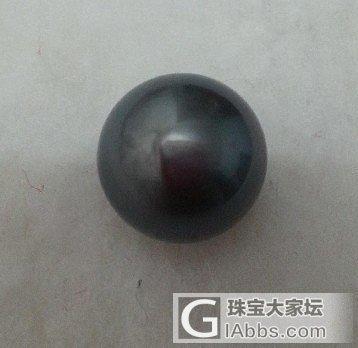 (已拍付)全新黑珍珠,14.5--1..._有机宝石