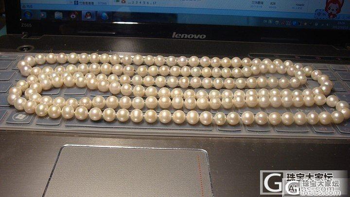 求珍珠毛衣链。~3MM-8MM都可以..._珠宝