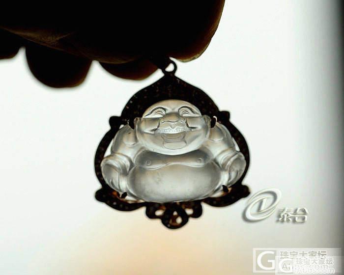 【璞玉阁】刚刚玻璃佛,蓝水大叶子,豪..._翡翠