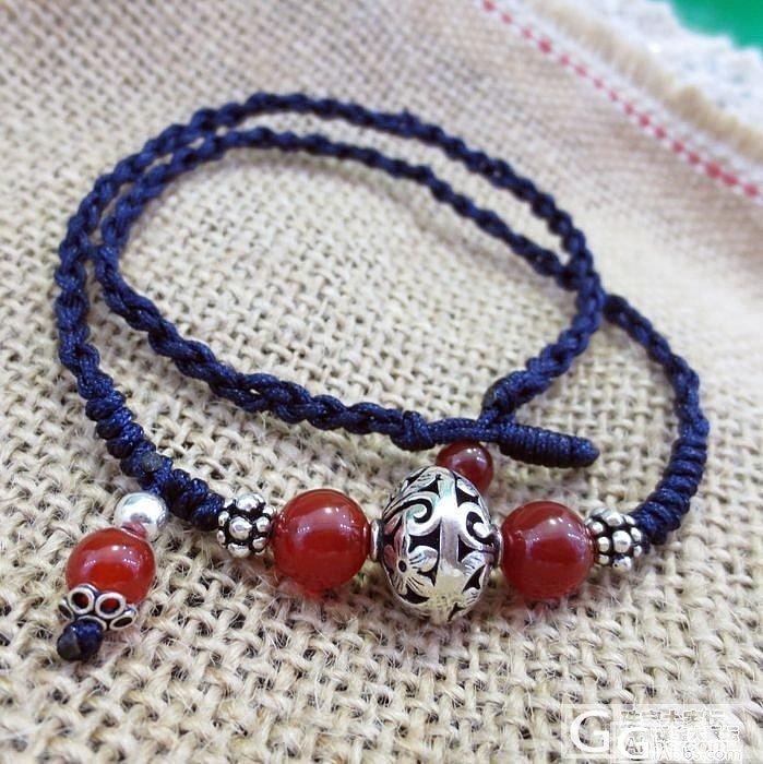 纯手工水晶首饰3件,葡萄石,玛瑙,泰..._宝石