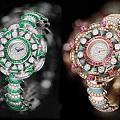 宝格丽钻石花朵手表